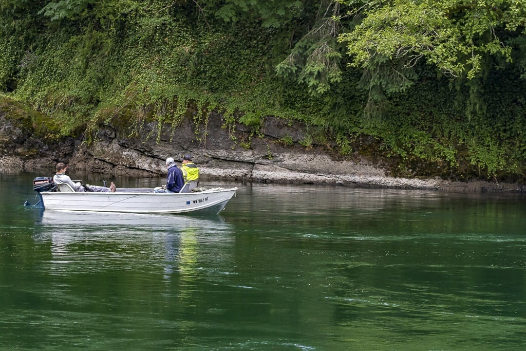 Anglers float the North Fork Lewis River in this ClarkCountyToday.com file photo. Photo by Mike Schultz