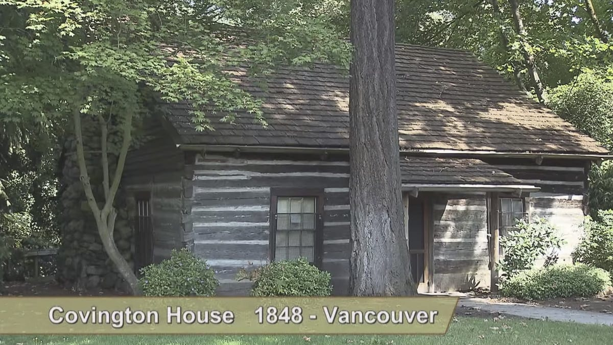 The Covington House is seen in this image from a video available at www.clark.wa.gov/community-planning/historic-preservation. Image provided by the Clark County Historic Preservation Commission