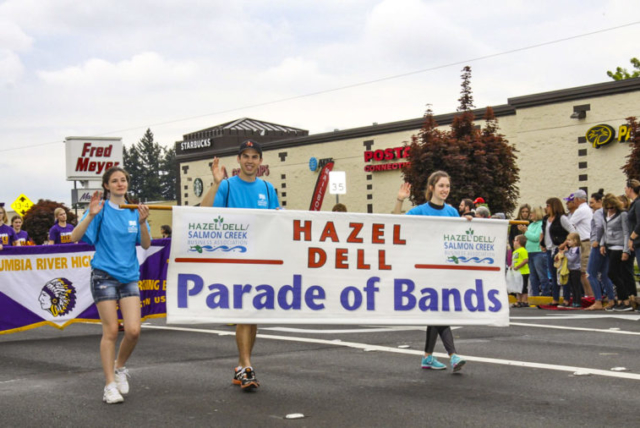 2018 Hazel Dell Parade of Bands. Photo courtesy of Carol Brown.
