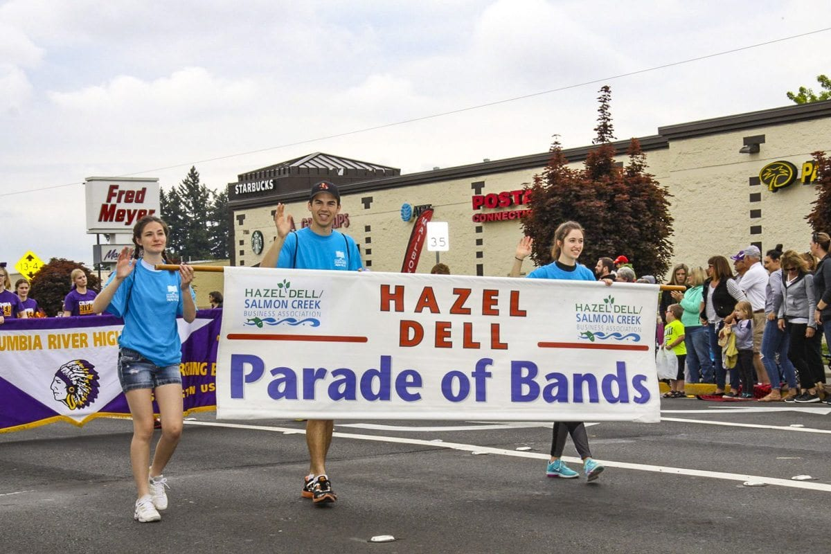 The 54th annual Hazel Dell Parade of Bands took place Saturday along Highway 99 in Hazel Dell. Photo by Carol Brown