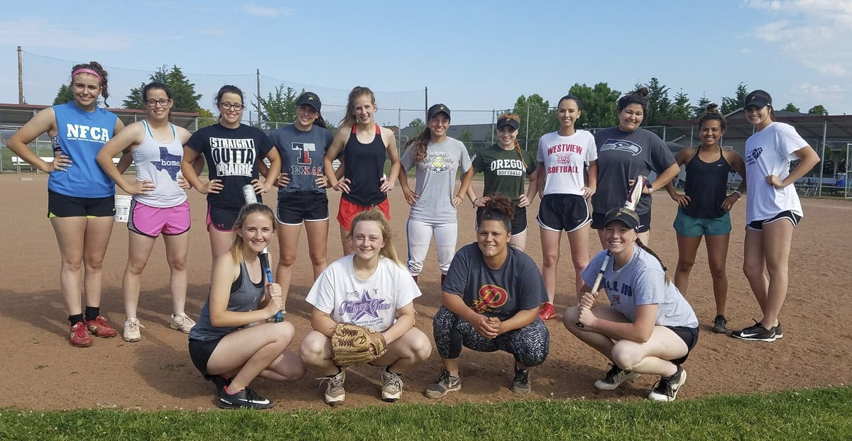 "The Prairie Falcons spent most of the season learning to trust each other. Now, they say they are ""sisters for life"" after turning around their season and qualifying for the Class 3A state softball tournament. Photo by Paul Valencia"