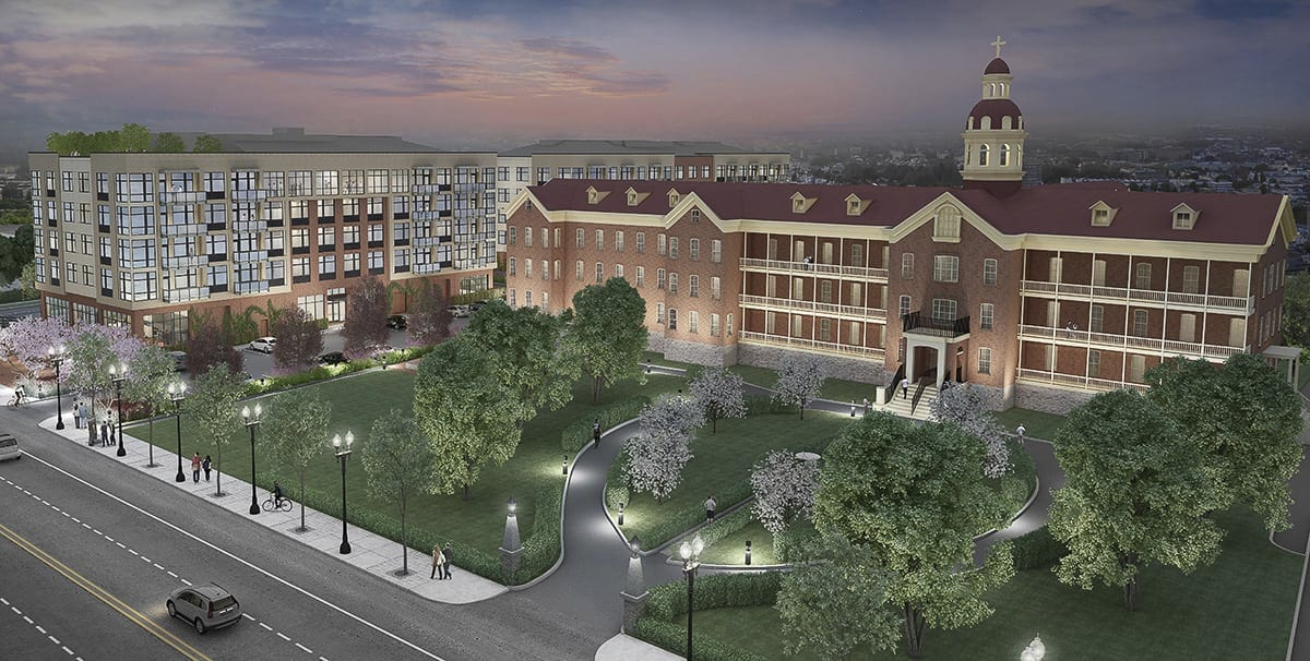 Changes to this rendering will be revealed on May 31. Image courtesy of The Historic Trust