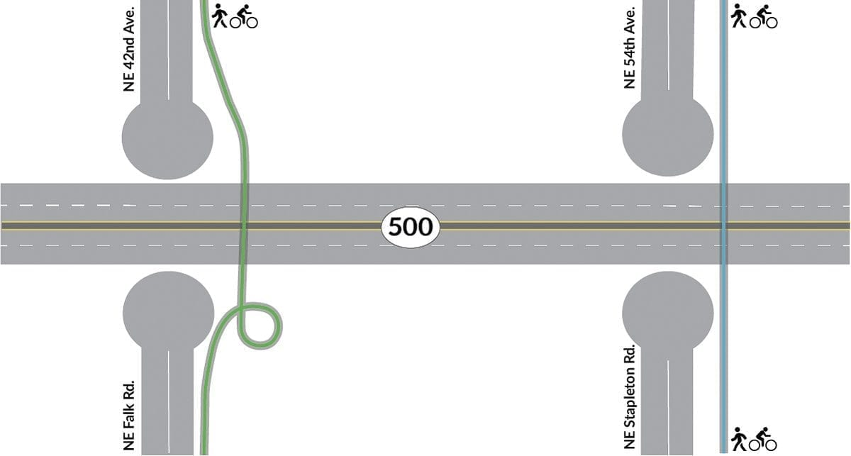 Here's the No Access concept as presented by the WSDOT. Image provided by WSDOT