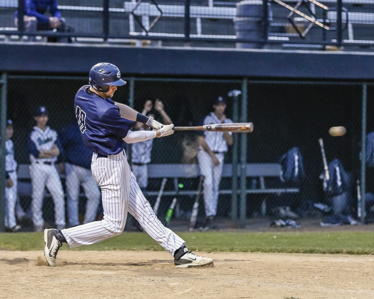 Daniel Copeland had three hits for Skyview in Tuesday's loss to Todd Beamer. Copeland, the team's top pitcher who also led the league in hitting, was named the 4A GSHL's player of the year. Photo by Mike Schultz