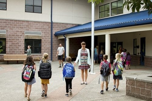 Woodland Public Schools makes the safety and security of students and staff the top priority using a variety of approaches. Photo courtesy of Woodland Public Schools