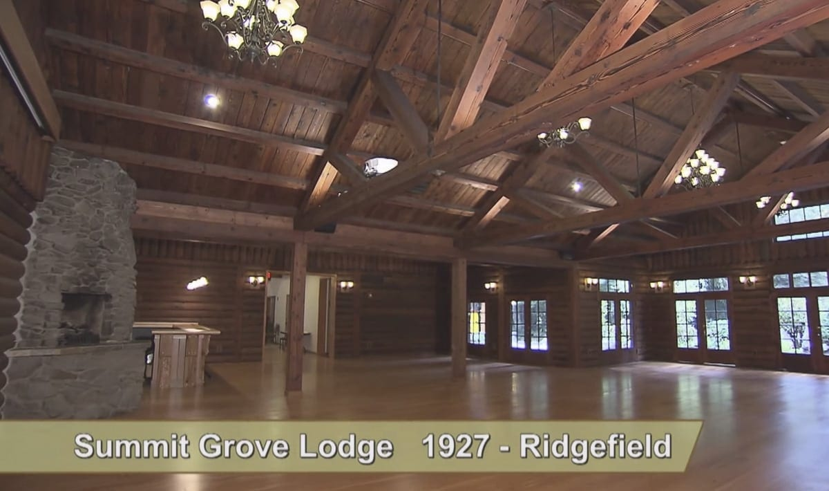Summit Grove Lodge in Ridgefield is seen in this image from a video available at www.clark.wa.gov/community-planning/historic-preservation. Image provided by the Clark County Historic Preservation Commission