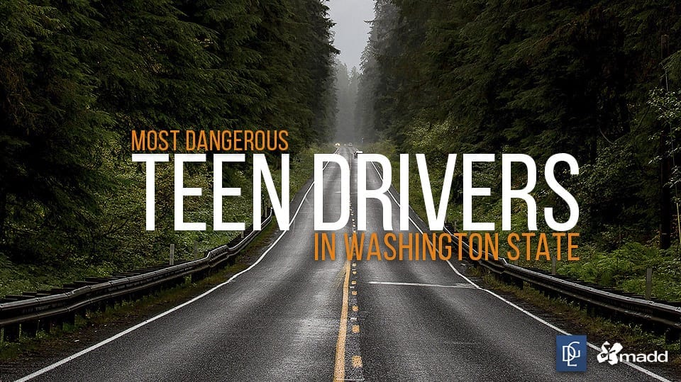 Davis Law Group put together a list of the deadliest Washington Counties for teen drivers. Photo Courtesy Davis Law Group