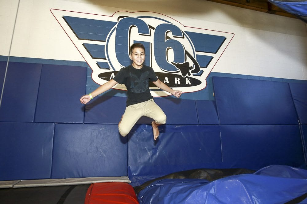 Children enjoy the 'Trick Zone' at G6 Airpark which is closing later this month. Photo courtesy g6airpark.com