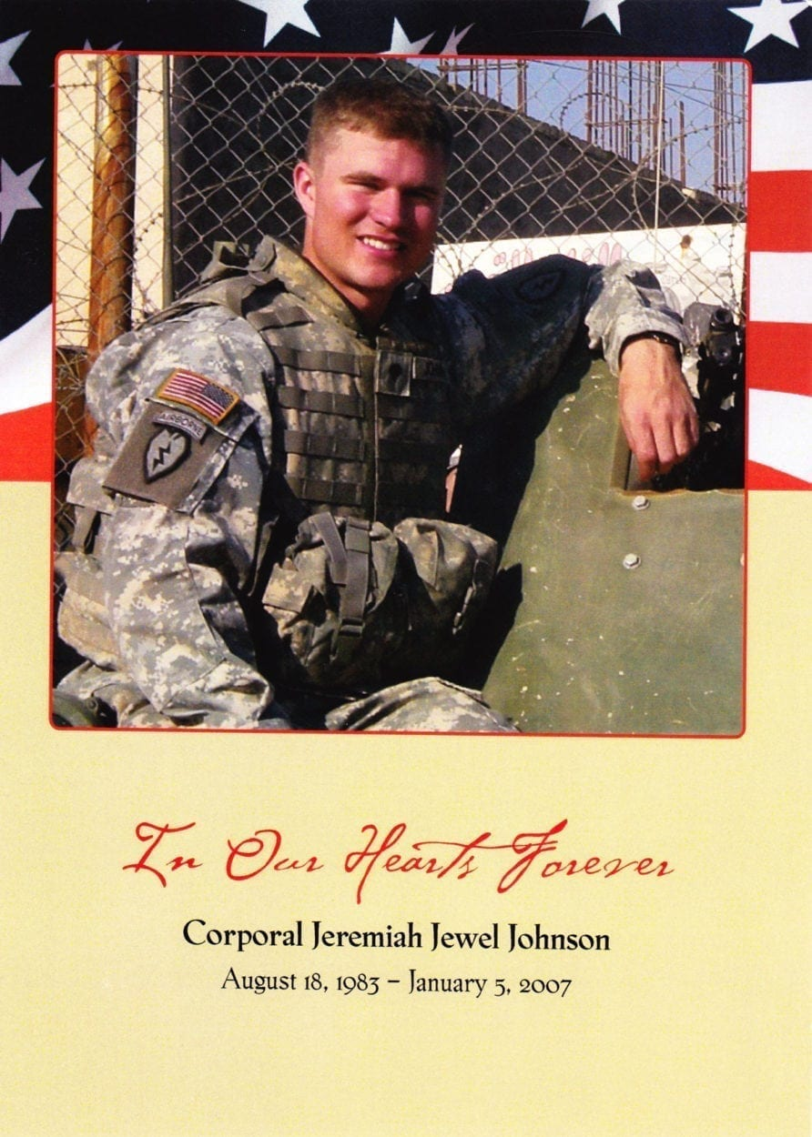 Cpl. Jeremiah Jewel Johnson
