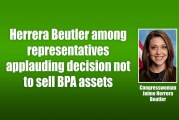 Herrera Beutler among representatives applauding decision not to sell BPA assets