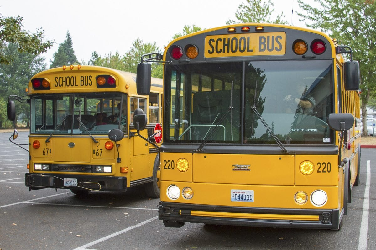 By working together, the four school districts in the KWRL Transportation Cooperative receive better transportation options while saving taxpayer money for use in schools and classrooms when compared to running their own independent transportation programs. Photo courtesy of Woodland School District