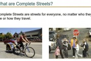 Clark County wants to compete for Complete Streets money