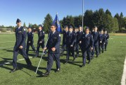 Celebrating tradition: BGPS AFJROTC Pass in Review