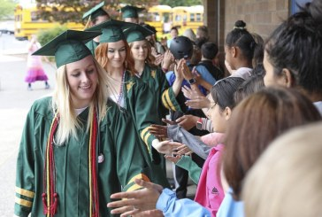 On tour: Soon-to be Evergreen graduates visit younger students