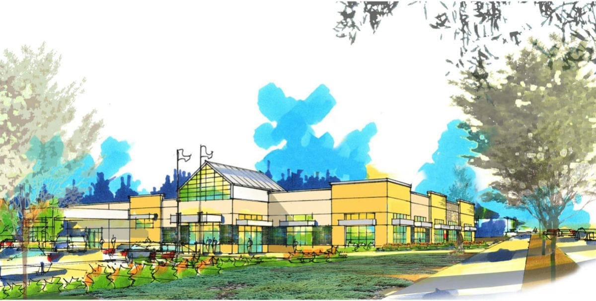 This rendering shows what the new Goodwill store on Fourth Plain at 140th Avenue will look like. Photo courtesy Goodwill Industries