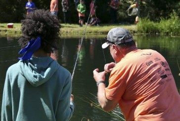Fatherless children get to enjoy outdoor fun at Trout Camp 2018