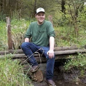 Woodland High School graduate Cooper Kaml plans to attend Lower Columbia College to pursue a business degree with the hopes of eventually managing a greenhouse chain. Photo courtesy of Cooper Kaml