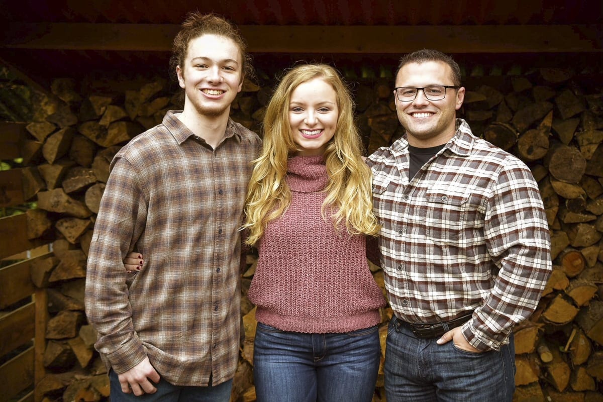 Dan and Heidi Wetzler's three children are shown here (left to right) Stefan (age 17), Savannah (age 20) and Dan. Jr. (age 30). Photo courtesy of the Wetzler Family