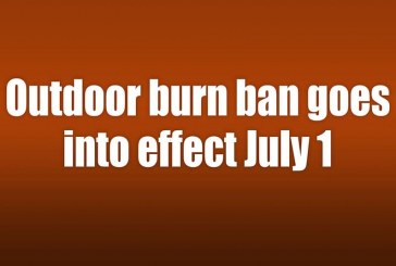 Outdoor burn ban goes into effect July 1