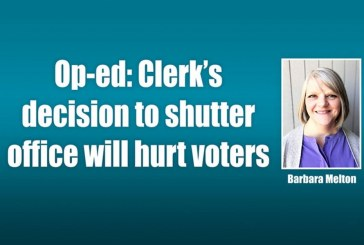 Op-ed: Clerk's decision to shutter office will hurt voters