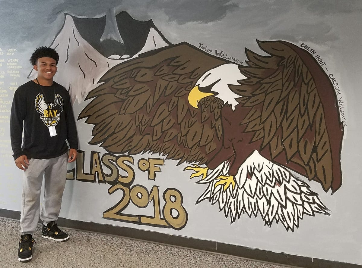 Quadrese Teague has left his mark at Hudson's Bay High School with his academic record and his character. His advice to future high school students: Get involved. Enjoy the experience. Make memories. Photo by Paul Valencia