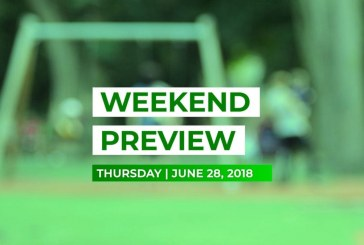 Weekend Preview • June 28, 2018
