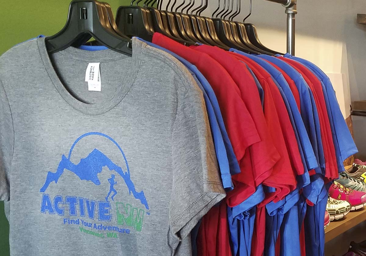 Find your adventure at Active NW, a new shop for runners, hikers, walkers that is scheduled to open Saturday in central Vancouver.. Photo by Paul Valencia