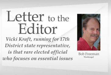 Letter: Vicki Kraft 'is that rare elected official'