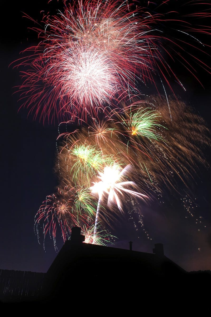 Clark County residents are encouraged to end their Independence Day with a bang at Vancouver's Fireworks Spectacular. Photo courtesy of The Historic Trust