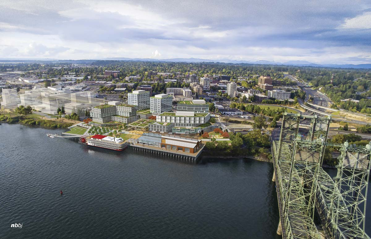This concept shows what the Port of Vancouver's Terminal 1 property along the waterfront could eventually look like. Photo courtesy Port of Vancouver