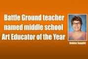 Battle Ground teacher named middle school Art Educator of the Year