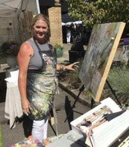 Heidi Curley of my aRt heals me will return to this year's Camas Vintage & Art Faire, Photo courtesy of the Downtown Camas Association