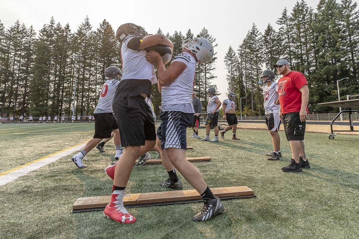 At Camas, the Papermakers are always carrying the burden of lofty expectations and the 2018 season is no different. Photo by Mike Schultz