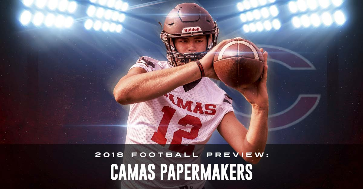 Shane Jamison is a three-sport athlete and a great student at Camas High School. Football is his top sport, and he loves representing his team to the community. Photo by Mike Schultz. Edited by Andi Schwartz