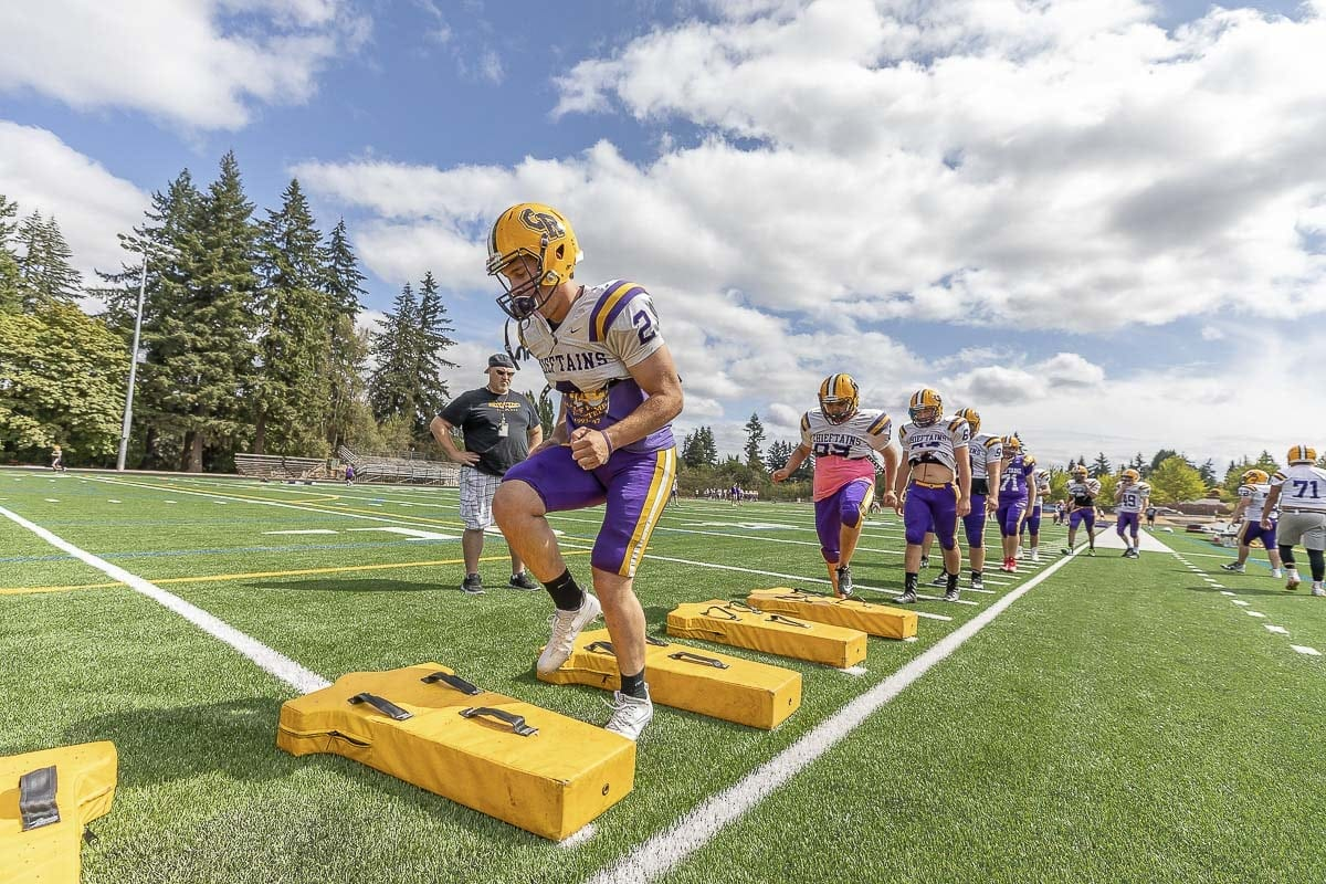 With more than 30 seniors, the time is now for the Columbia River Chieftains. Photo by Mike Schultz