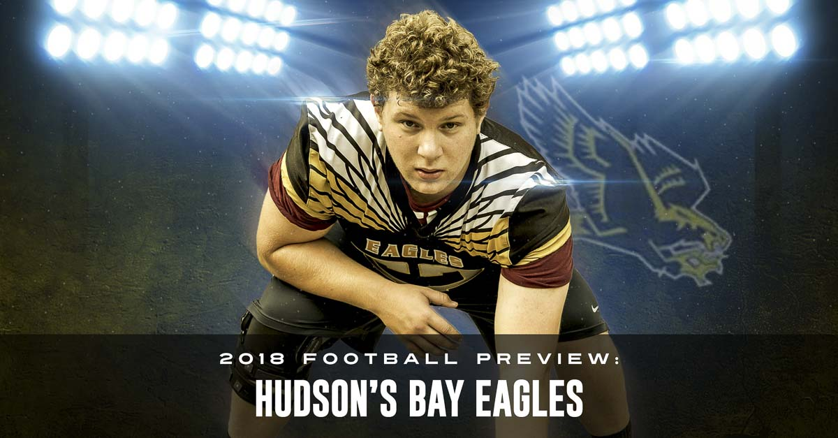 Logan DeGrandpre and the Eagles made it to the playoffs in 2017. It lasted one game for the team, and only a quarter for DeGrandpre. Now, after recovering from a serious knee injury, DeGrandpre hopes to help the Eagles make it back to the playoffs. Photo by Mike Schultz. Edited by Andi Schwartz.