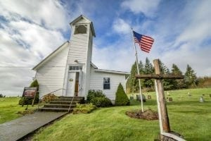 Hazen Chapel Wesleyan Church in View (Amboy) Washington