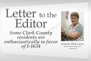 Letter: Some area residents 'are enthusiastically in favor of I-1634'
