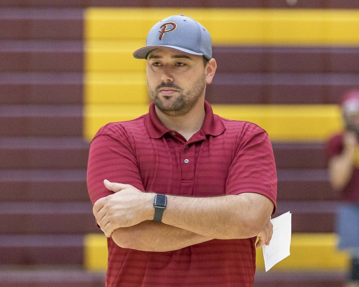 Mike Peck takes over as head football coach at Prairie this season. Photo by Mike Schultz