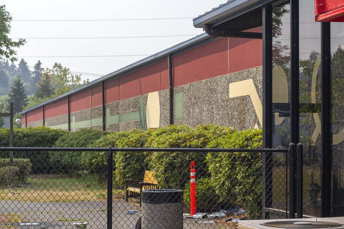 Vancouver Tennis Center fell under rough times before USTA PNW agreed to restore the facility. Photo by Jacob Granneman