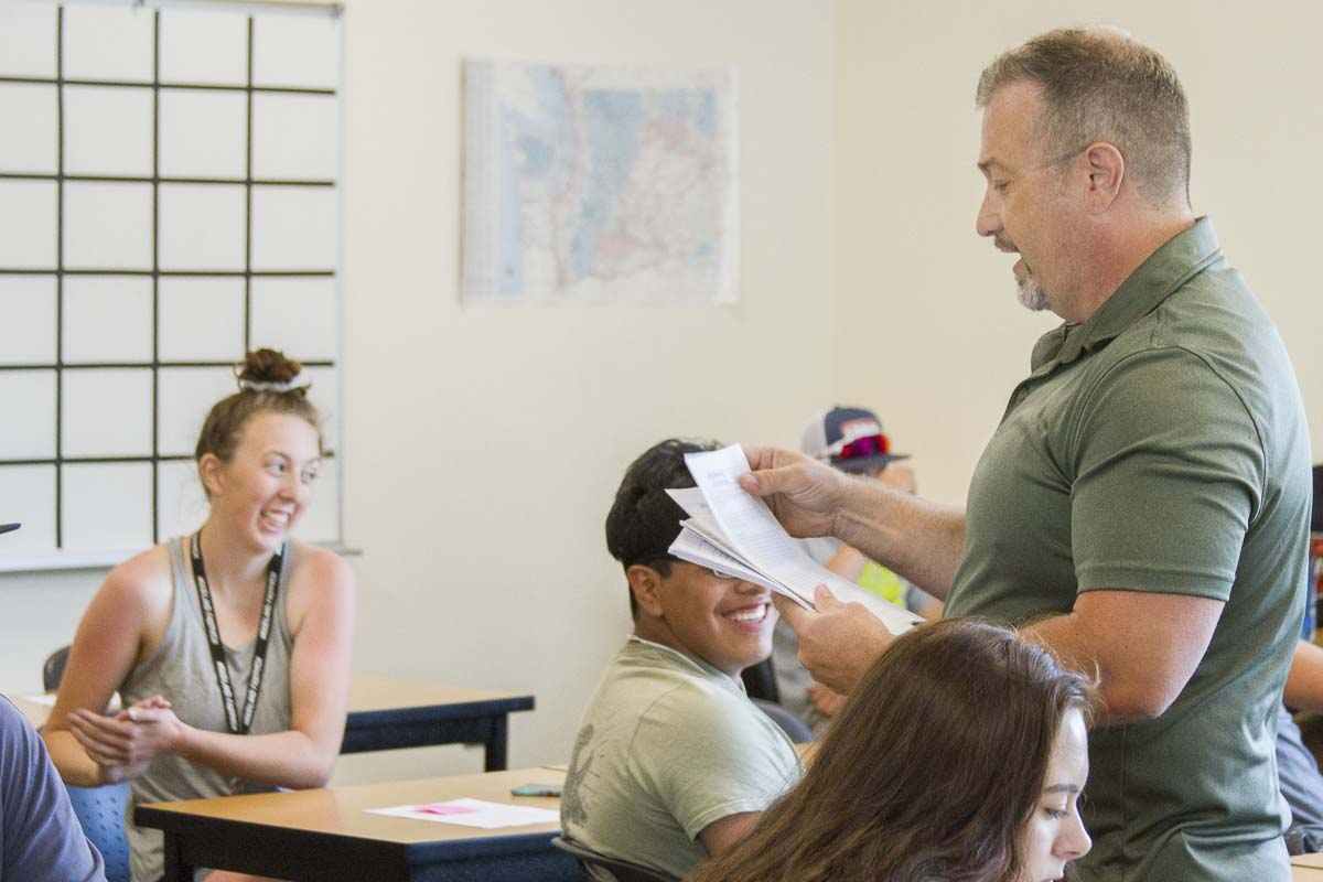 Woodland High School Math and Science teacher Keith Clevenger has taught summer school for four consecutive years. Photo courtesy Woodland Public Schools