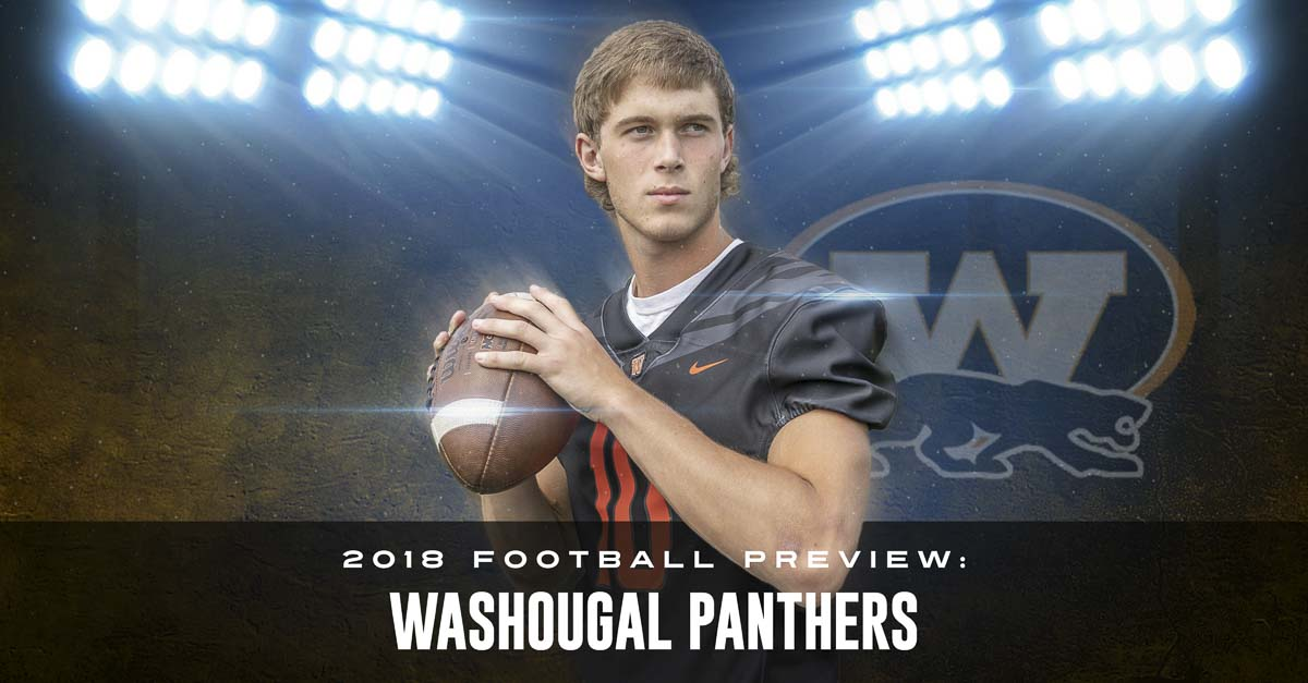 Dalton Payne got varsity experience as a defensive back and wide receiver last year, all in preparation to take over as quarterback this season. It is his time now at Washougal. Photo by Mike Schultz. Edited by Andi Schwartz.
