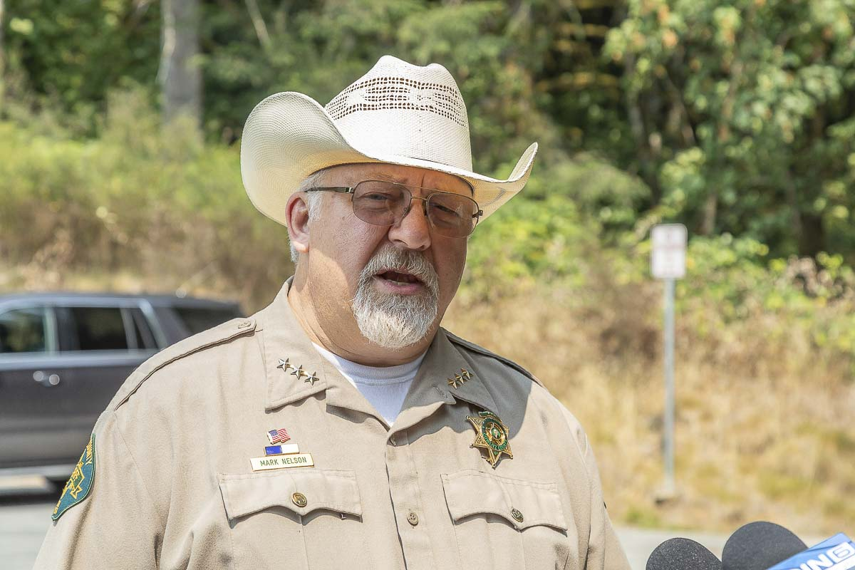 Cowlitz County Sheriff Mark S. Nelson
