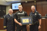 Battle Ground officer presented with Life Saving Award