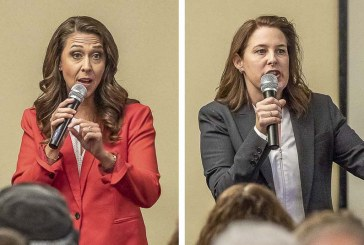 Herrera Beutler and Long debate key issues at Woodland Chamber of Commerce meeting