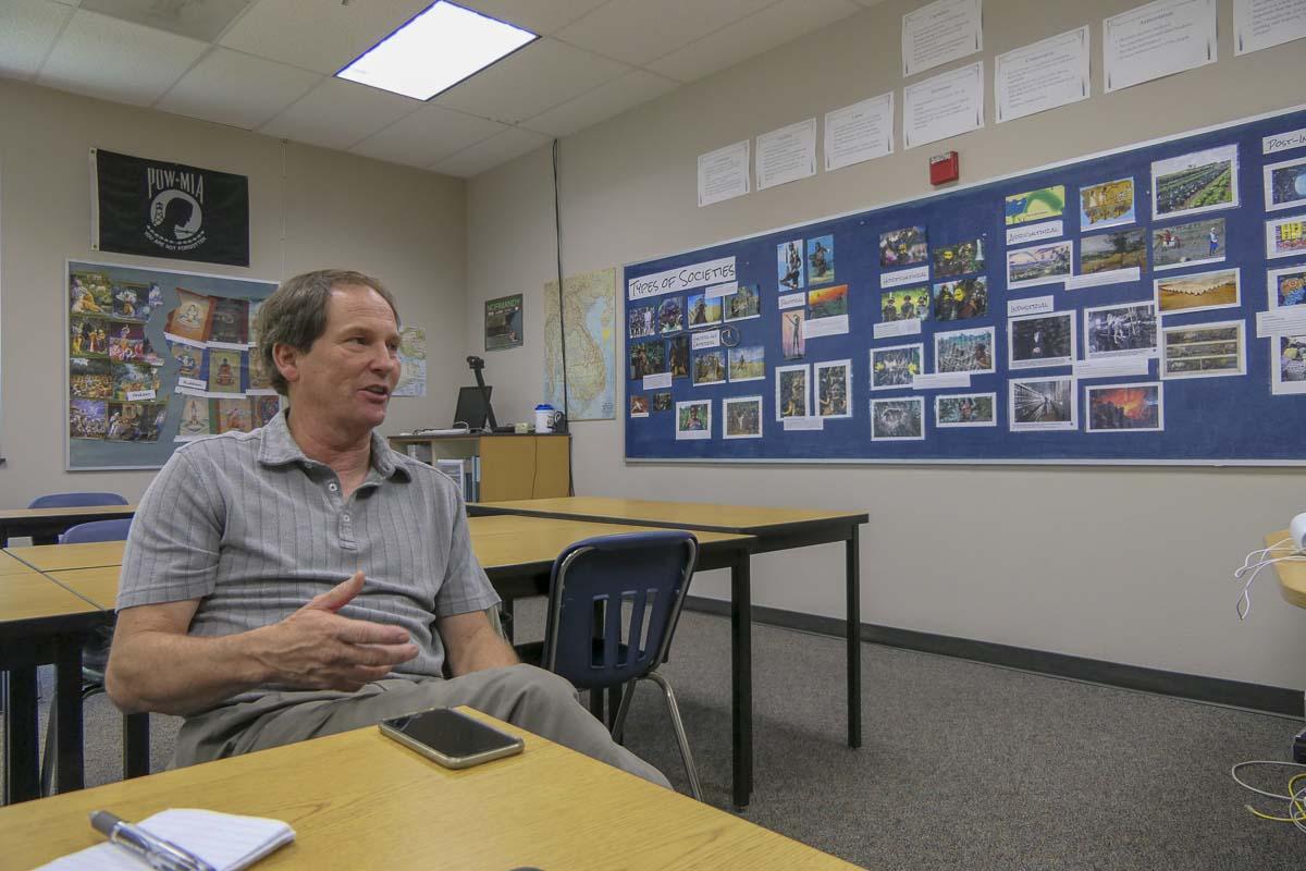 La Center School District Superintendent Dave Holmes. Photo by Chris Brown