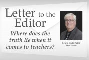 Letter: Where does the truth lie when it comes to teachers?