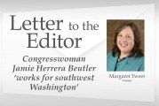 Letter: Congresswoman Jamie Herrera Beutler 'works for southwest Washington'
