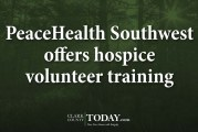 PeaceHealth Southwest offers hospice volunteer training