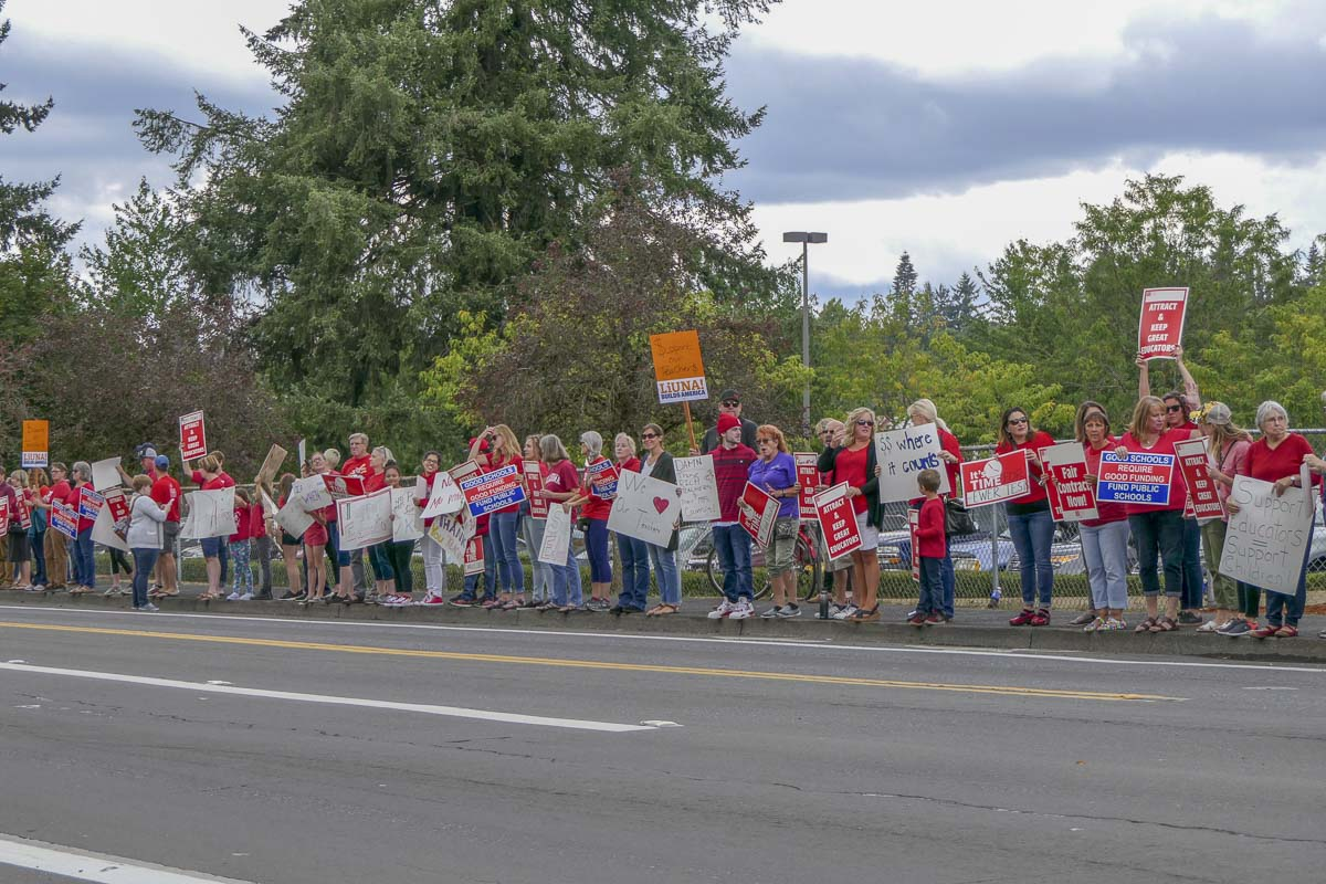 Vancouver Teachers have a new contract to vote on this week. Photo by Chris Brown